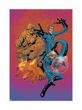 Marvel Age Fantastic Four No.7 Cover: Mr. Fantastic Prints by Makoto Nakatsuka