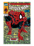Spider-Man 1 Cover: Spider-Man Print by Todd McFarlane