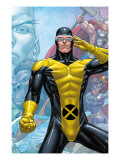X-Men: First Class Finals 3 Cover: Cyclops Print by Roger Cruz