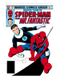 Marvel Team-Up No.132 Cover: Spider-Man and Mr. Fantastic Posters by Buscema Sal