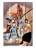 Alpha Flight 2 Group: Major Mapleleaf, Nemesis and Alpha Flight Art by Henry Clayton