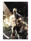 Thunderbolts 137 Cover: Iron Fist, Cage and Luke Art