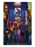 Ultimate Spider-Man Annual 3 Cover: Spider-Man, Peter Parker, and Mary Jane Watson Print by Mark Brooks