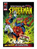 Spectacular Spider-Man #114 Cover: Spider-Man, Captain Britain and Red Skull Pster por Jon Haward