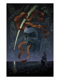 Marvel 1602 No.7 Cover: Dr. Strange Charging Posters by Scott McKowen