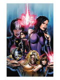 New Exiles No.1 Cover: Psylocke Fighting Prints by Greg Land
