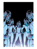 New X-Men No.17 Cover: Stepford Cuckoos Prints by Lopresti Aaron