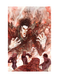 Fantastic Four: True Story No.4 Cover: Nightmare Prints by Niko Henrichon