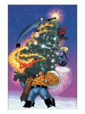 Marvel Holiday Special No.1 Cover: Thing Print by Immonen Stuart
