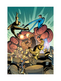Marvel Adventures Fantastic Four 35 Cover: Thing and Mr. Fantastic Poster par Graham Nolan