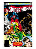 Spider-Woman No.37 Cover: Spider Woman, Siryn, Juggernaut and Nick Fury Prints by Steve Leialoha