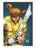 X-Force No.2 Cover: Shatterstar Posters by Rob Liefeld