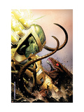 WWH Aftersmash: Warbound No.3 Cover: Leader and Brood Print by Jim Cheung