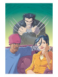 Jubilee No.6 Cover: Jubilee and Wolverine Prints by Casey Jones