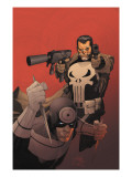 Punisher Vs. Bullseye No.3 Cover: Punisher and Bullseye Planscher av Yu Leinil Francis