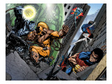 Exiles No.41 Group: Apocalypse, Nocturne, Thunderbird, Sabretooth and Exiles Posters by Calafiore James