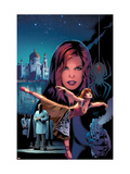 Black Widow No.4 Cover: Black Widow Poster by Land Greg