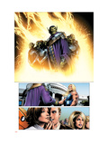 Ultimate Fantastic Four No.28 Group: Super Skrull and Skrulls Posters by Land Greg