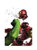 The Invincible Iron Man 19 Cover: Hulk and Iron Man Posters