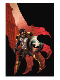 Civil War: House Of M 3 Cover: Bucky Prints by Mike Perkins