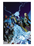 The Order 9 Cover: Anthem, Veda and Aralune Prints by Kitson Barry