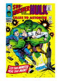 Tales to Astonish 83 Cover: Hulk and Thunderbolt Ross Prints by Dick Ayers