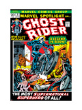 Marvel Spotlight Ghost Rider 5 Cover: Ghost Rider Affiches par Mike Ploog
