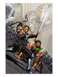 Incredible Hercules 115 Cover: Hercules and Ares Prints by Arthur Adams