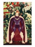 Adam: Legend Of The Blue Marvel No.3 Cover: Blue Marvel Prints by Juan Doe