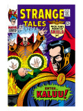 Strange Tales 148 Cover: Dr. Strange, Ancient One and Kaluu Prints by Bill Everett