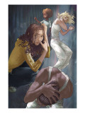 NYX: No Way Home 5 Cover: Nixon and Kiden Posters by Alina Urusov