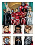New X-Men: Academy X Yearbook Group: Hellion Prints by Georges Jeanty