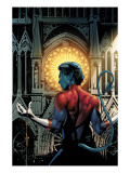 Nightcrawler No.3 Cover: Nightcrawler Fighting Prints by Greg Land