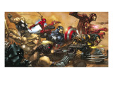 Ultimates 3 Cover: Captain America Posters par Joe Madureira