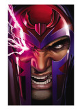 Uncanny X-Men 516 Cover: Magneto Print by Land Greg