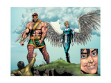 Incredible Hulk 106 Group: Cho, Amadeus, Hercules and Angel Prints by Frank Gary