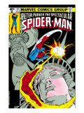 The Spectacular Spider-Man Cover: Spider-Man, Peter Parker, and Human Torch Art by Mike Zeck