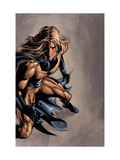 Dark Avengers No.13 Cover: Sentry Prints by Mike Deodato