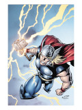 Marvel Adventures Super Heroes No.7 Cover: Thor Print by Salva Espin