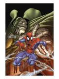 Marvel Age Spider-Man No.4 Cover: Spider-Man and Dr. Doom Prints by Mark Brooks