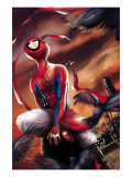 Spider-Man India 1 Cover: Spider-Man Affiches par Kang Jeevan J.