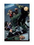 Young Avengers 8 Group: Mr. Hyde, Bishop, Kate, Hulkling and Young Avengers Poster by Andrea Di Vito