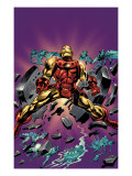Gene Colan Tribute Book Cover: Iron Man Print by Matt Milla