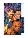 Fantastic Four: Foes 1 Cover: Mr. Fantastic Prints by Jim Cheung