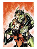 Amazing Spider-Girl 29 Cover: Spider-Girl and Green Goblin Poster by Ron Frenz