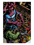 Powerless No.1 Group: Galactus, Hulk, Silver Surfer and Thor Kunstdrucke von Michael Gaydos
