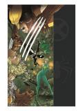 X-Men/Spider-Man No.2 Cover: Spider-Man, Wolverine and Dazzler Prints by Mario Alberti