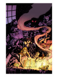 Witches No.2 Cover: Topaz, Satana and Jennifer Prints by Mike Deodato