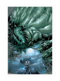 Incredible Hulk #70 Cover: Hulk Julisteet tekijn Mike Deodato Jr.