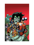 Avengers: The Initiative 30 Cover: The Hood, Tigra and Nightmare Prints by Rafa Sandoval